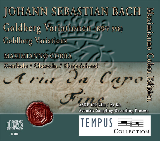 BACH - Goldberg Variations BWV 988