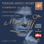 MOZART - Symphony No. 25 KV 183