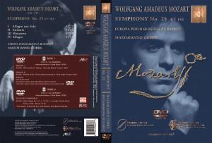 MOZART - Symphony No. 25 KV 183 - DVD-AUDIO