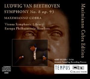 BEETHOVEN - Symphony No. 8 op. 93  - CD Audio