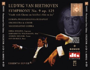 BEETHOVEN - Symphony No. 9 op. 125 - DTS CD