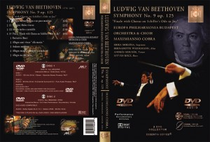 BEETHOVEN - Symphony No. 9 op. 125 - DVD-Video / Audio