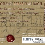 BACH - The Art of the Fugue BWV 1080 - CD Audio