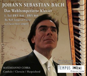 BACH - The Well-Tempered Clavier BWV 846-893 Book 1 - CD Audio