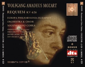MOZART - Requiem KV 626 - CD Audio